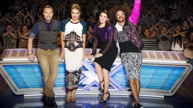 The X Factor has taken a hit in the ratings this year. Picture: Channel 7