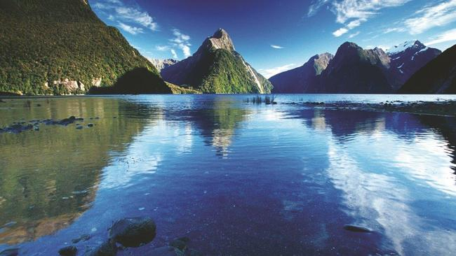 Picturesque New Zealand is seeing an upswing in Aussie visitors. Picture: Phil Hoffmann Travel