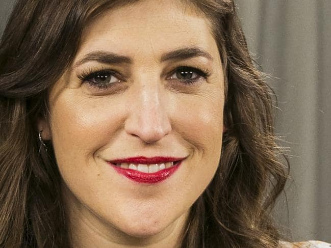 FILE - In this May. 23, 2017, file photo, actress and author Mayim Bialik poses for a photo in Los Angeles. In a Facebook Live interview with The New York Times on Oct. 16, 2017, Bialik discussed a recent opinion piece that drew accusations that she was blaming accusers of Harvey Weinstein. (AP Photo/Damian Dovarganes, File)