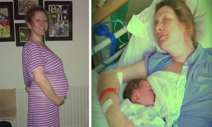 Pregnant woman's headache after sex left her paralysed and wheelchair-bound