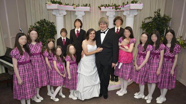 The couple were allegedly planning a 14th child in the hopes of having a reality TV show. Picture: Supplied