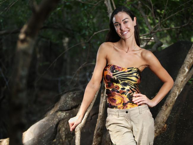 Laurina after leaving the jungle. Picture: Dylan Robinson