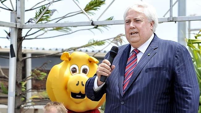Palmer United Party federal leader and Member for Fairfax Clive Palmer has a $631 million fortune.