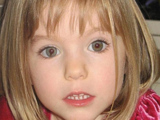 Madeleine McCann, who went missing in May 2007. Picture: AP