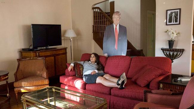Ever feel you're being watched? Picture: Annie Wermeil/NY Post