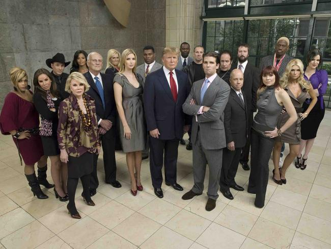 Dennis Rodman appeared on Celebrity Apprentice, hosted by Donald Trump, in 2009. He returned for All-Star Celebrity Apprentice. Picture: NBC/Mitchell Haaseth
