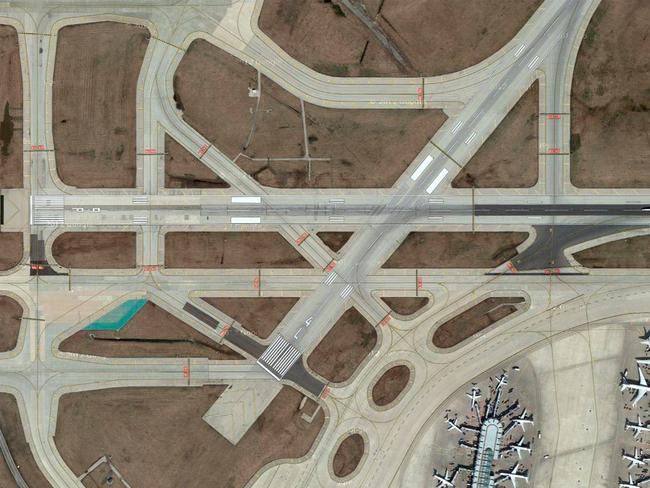 O'Hare International Airport, US. Picture: Lauren O'Neil