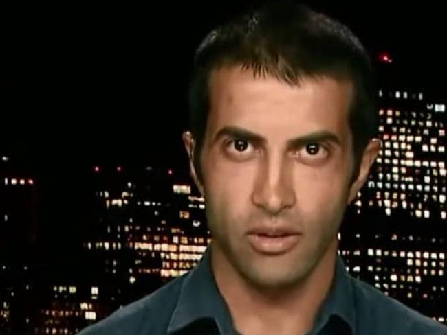 Speaking out ... Mosab Hassan Yousef says Hamas doesn't care about Palestinians.