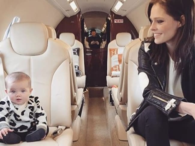 Coco Rocha posted a picture on Instagram of her daughter wearing Atelier Child