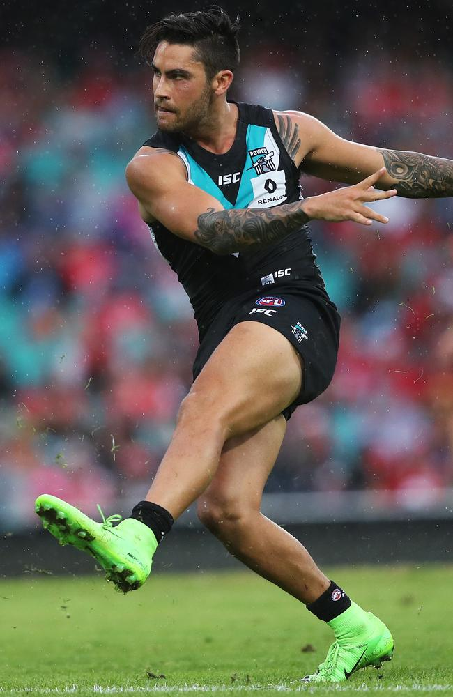 Port Adelaide's Chad Wingard changing his game to regain ...