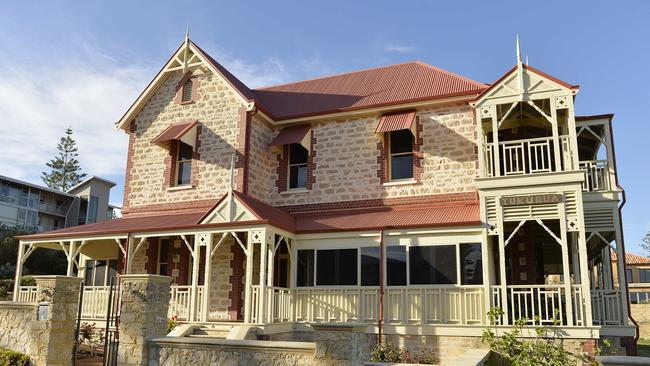 The mansion Tukurua in Rosendo St, Cottesloe. Picture: Stewart Allen.