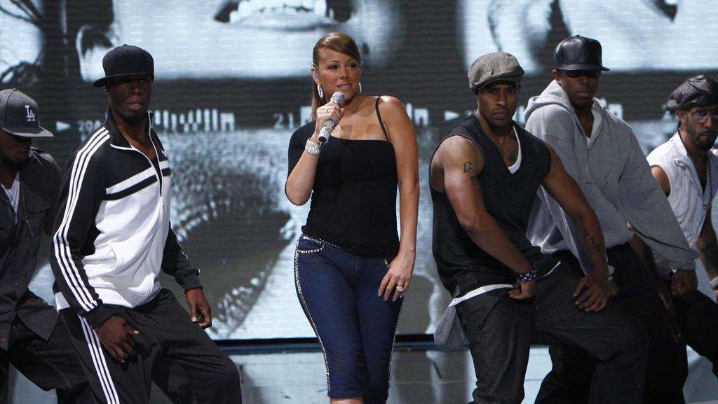 Mariah Carey performing on America's Got Talent in 2009. Picture: Trae Patton/NBC/NBCU Photo Bank via Getty Images