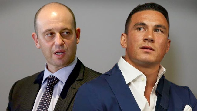 Todd Greenberg and Sonny Bill Williams