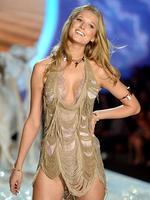 Victoria's Secret Fashion Show 2013: Angel Toni Garrn walks the runway at the 2013 Victoria's Secret Fashion Show. Picture: Getty