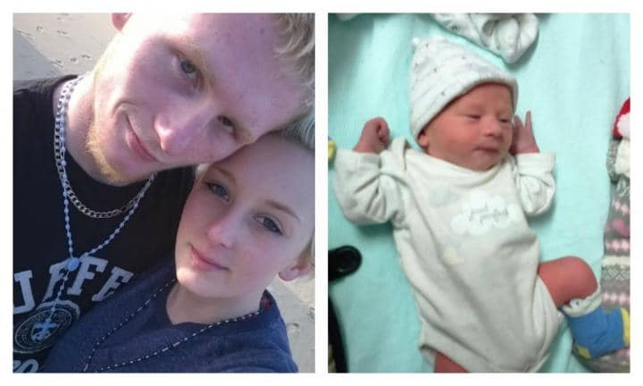 Father cradled newborn son in bed and woke to find him dead