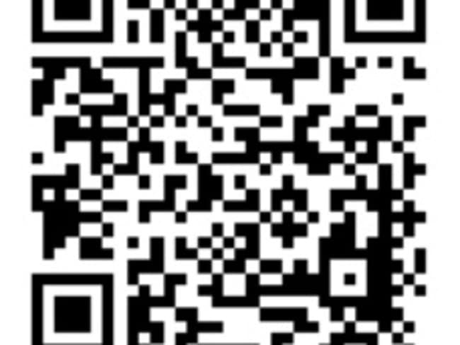 If your industry calls for it, using a QR code can show you're comfortable with the technology.