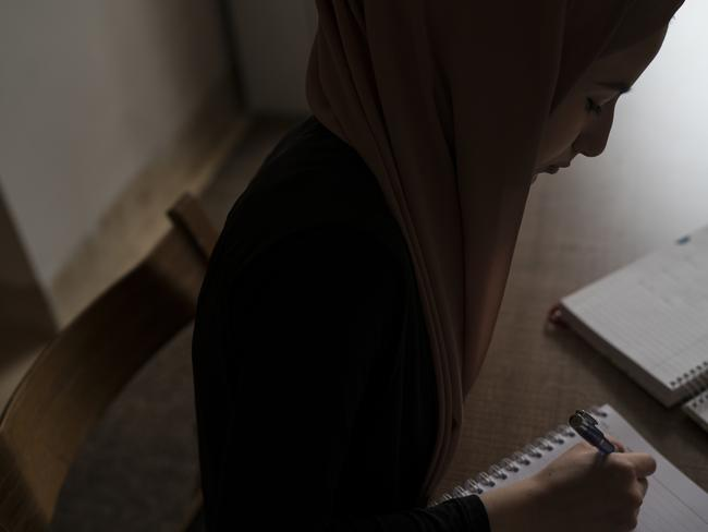 Ferah said she found speaking her mind online and making connections with her followers helped her feel better — giving her an outlet to explore her hopes and fears. Picture: AP/ Felipe Dana