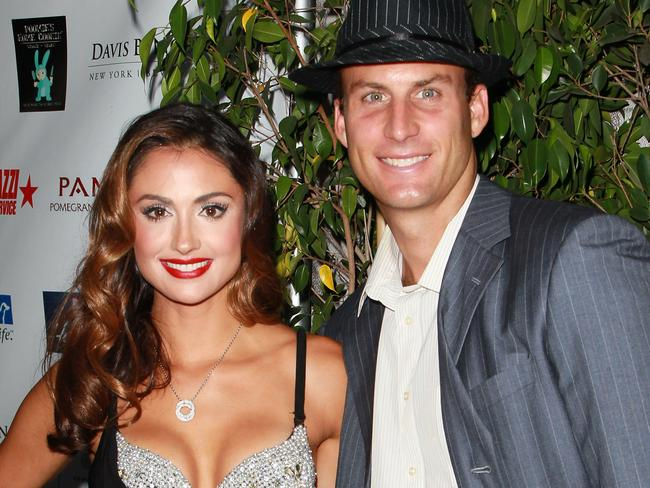 TV personalities Katie Cleary and Andrew Stern in August, 2011.