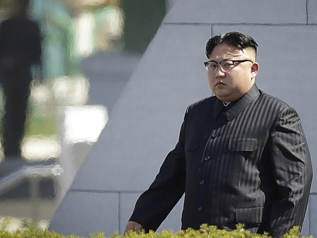 North Korean personality Kim Jong Un. Picture: Wong Maye-E/AP