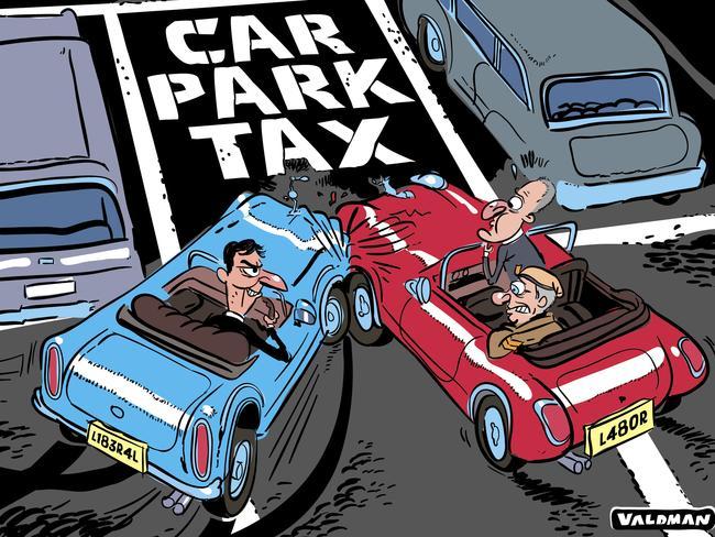 Cartoonist Joss Valdman's view.