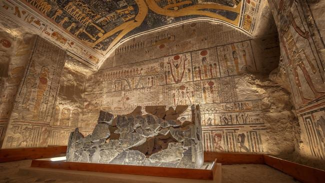 a research on early western civilization egyptian tomb Religion: the basis of egyptian civilization religious beliefs formed the basis of egyptian art, medicine, astronomy, literature, and government pyramids were tombs for pharaohs.