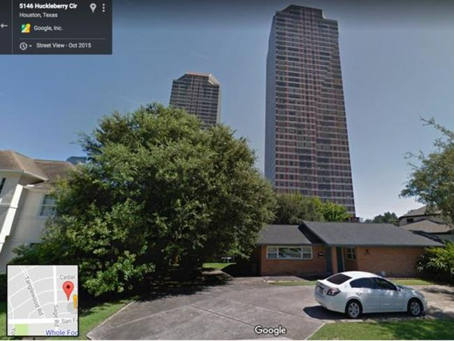 Houston, where one hundred people can see in your bedroom window. Source: Google Maps