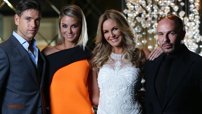 Didier Cohen, Jennifer Hawkins, Charlotte Dawson and Alex Perry from  <i>ANTM</i>