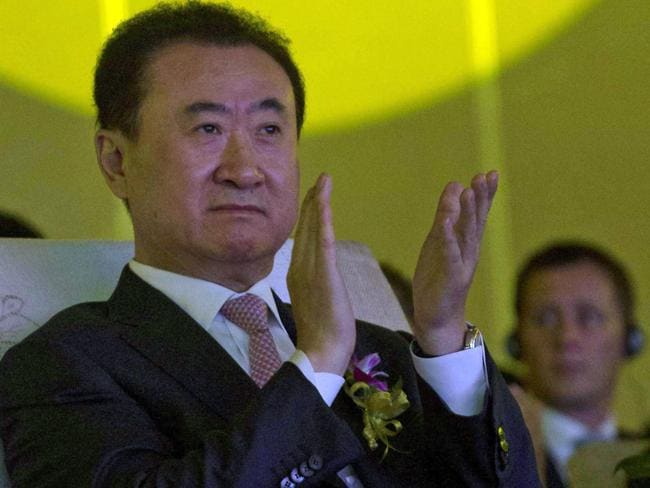 China's richest ... Wanda Chairman Wang Jianlin is the richest man in China. Picture: AP