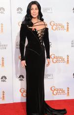 Repeat offender Cher and some precariously placed lacing at the 2010 Golden Globes. Picture: Kevin Winter/Getty Images