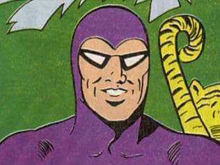 Comic strip character The Phantom Cover. comics books archived