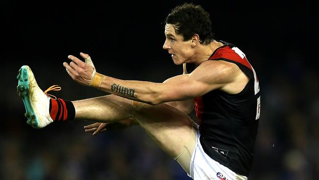 Jake Carlisle will be a key to Essendon's September hopes. Picture: Wayne Ludbey