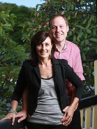 Paul and Gabrielle Quilliam, co-founders of Queensland Kids. Pics: Russell Shakespeare
