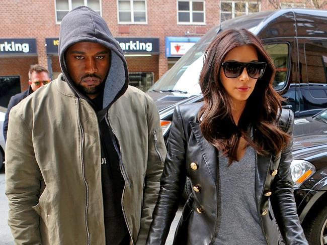 Why so glum Kimye?