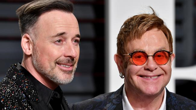 David Furnish and Elton John. Picture: Pascal Le Segretain/Getty