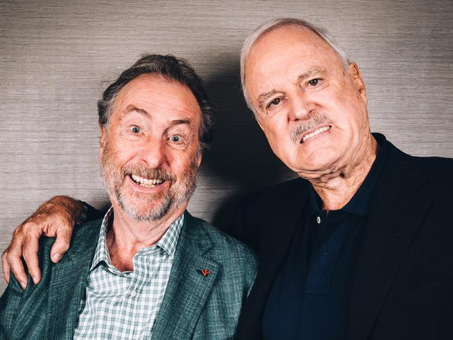 Comedy review: John Cleese, Eric Idle in Perth