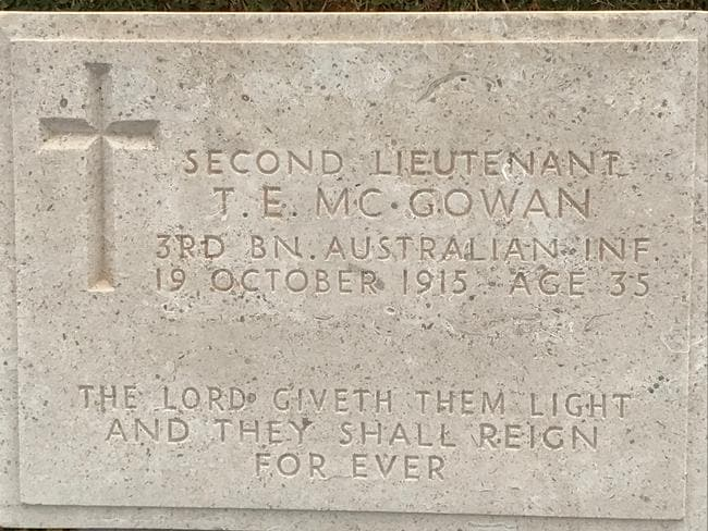 Portianou Cemetery — 224 Anzacs are buried in two cemeteries on the island. Picture: John Burfitt