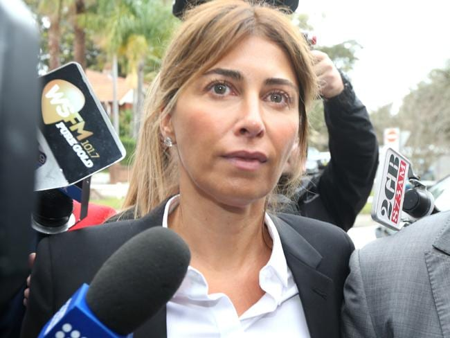 Facing court ... Jodhi Meares pleaded guilty to charges in Sydney.