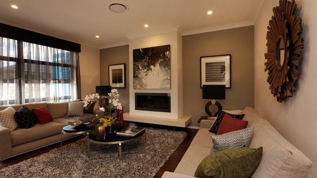 A living room perfect for mum and dad. Picture: John Fotiadis