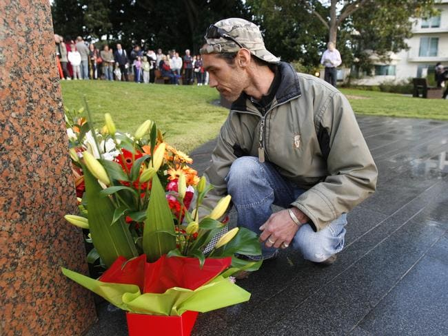 Never forgot ... The 2002 Bali bombings memorial service is held annually in Kings Park, Perth, to remember the 16 Western Australian victims, the injured and those who helped survivors from the terrorist bombings.