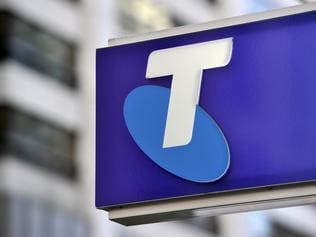 Signage at a Telstra store in Sydney Friday, May 20, 2016. Telstra has apologised to customers affected by an internet outage, the fourth service failure from the telco in as many months. (AAP Image/Joel Carrett) NO ARCHIVING