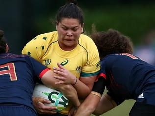 France v Australia - Women's Rugby World Cup 2017
