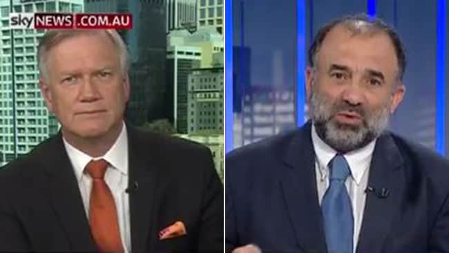 Keysar Trad, the president of the Australian Federation of Islamic Councils, appearing on Andrew Bolt's Sky News show.