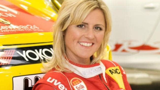 Professional German driver Sabine Schmitz will co-host with Evans.