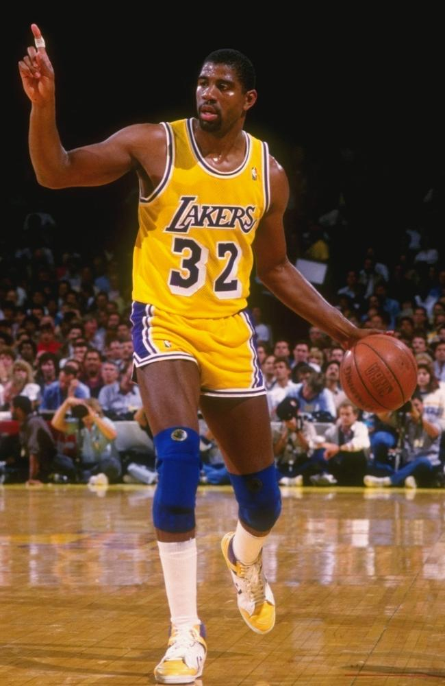 Magic Johnson - a Lakers and NBA legend.