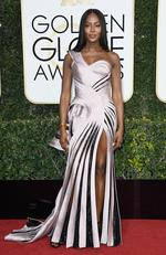 Naomi Campbell attends the 74th Annual Golden Globe Awards at The Beverly Hilton Hotel on January 8, 2017 in Beverly Hills, California. Picture: Getty