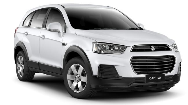 The Holden Captiva5 has dipped to $26,990 drive-away with auto. Picture: Supplied.