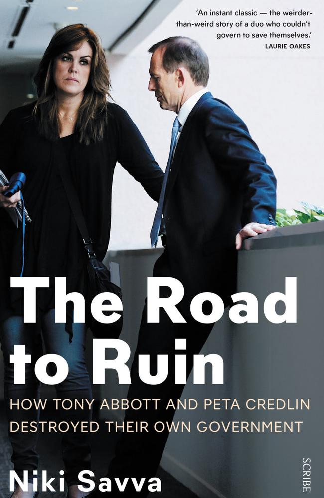 So it's not going to be a positive book for Mr Abbott then?