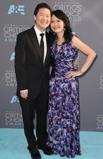 Ken Jeong and Tran Jeong attend the 21st Annual Critics' Choice Awards on January 17, 2016 in California. Picture: AP