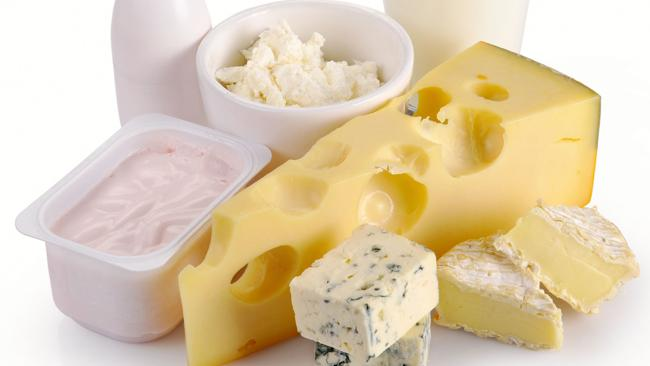 Dairy products - yoghurt, milk and cheese food varieties.