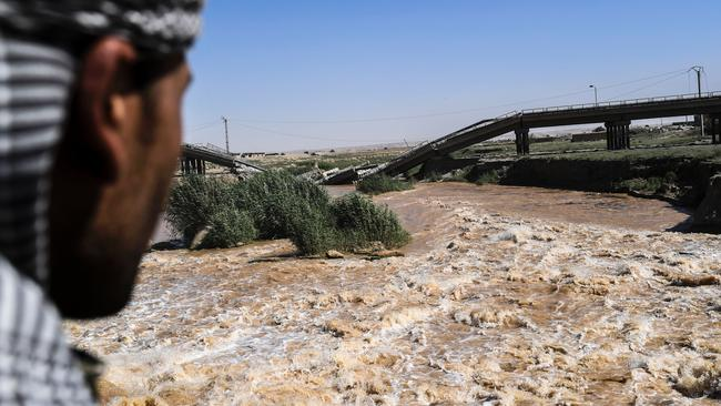 Wars where climate has played a role, such in Syria, could become the norm. Picture: AFP